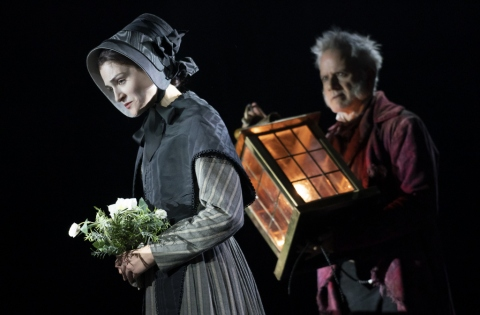 Sarah Hunt, Campbell Scott, A Christmas Carol, Charles Dickens, Jack Thorne, Matthew Warchus, an Old Vic Production