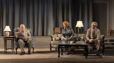 Aidan Quinn, Kristine Nielsen, Stephen Payne,The Young Man From Atlanta, Horton Foote, Michael Wilson, Signature Theatre