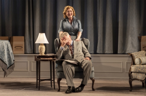 Aidan Quinn, Kristine Nielsen,The Young Man From Atlanta, Horton Foote, Michael Wilson, Signature Theatre