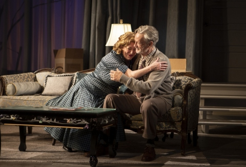 Kristine Nielsen, Stephen Payne,The Young Man From Atlanta, Horton Foote, Michael Wilson, Signature Theatre