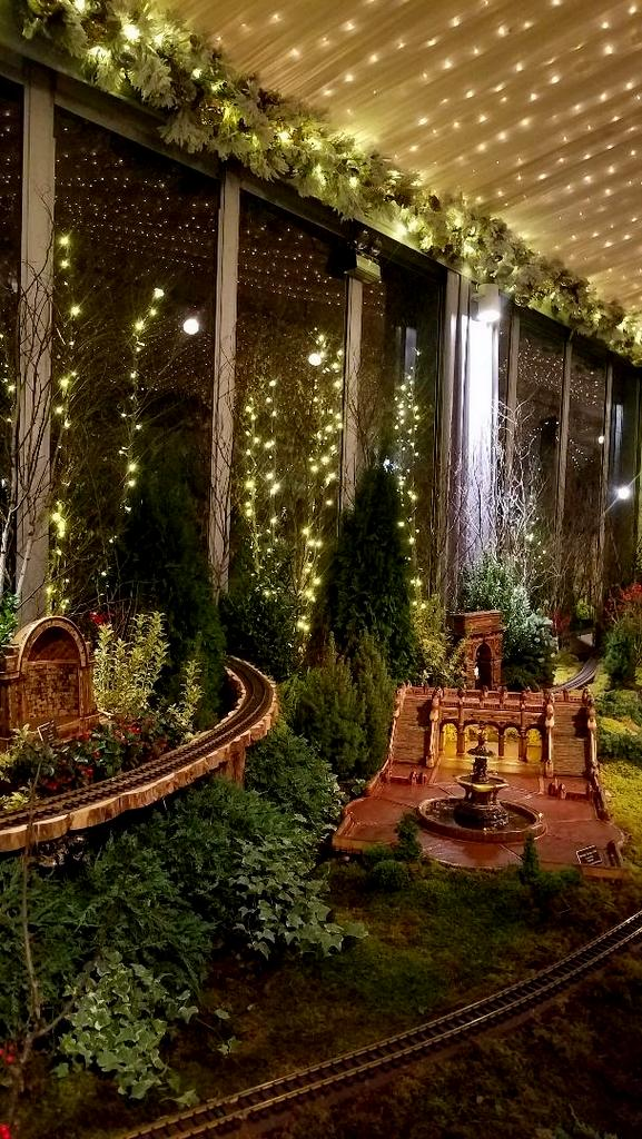 Bethesda Terrace, Angel of the Waters, Naumburg Bandshell, Central Park Display, NYBG 28th Holiday Train Show, Bar Car Nights, Applied Imagination
