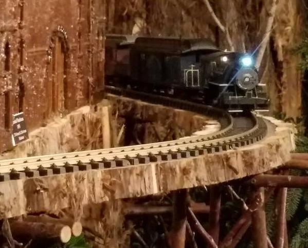 28th NYBG Holiday Train Show, Applied Imagination, NYBG, Bar Car Nights