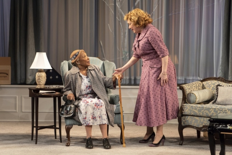 Kristine Nielsen,The Young Man From Atlanta, Horton Foote, Michael Wilson, Signature Theatre