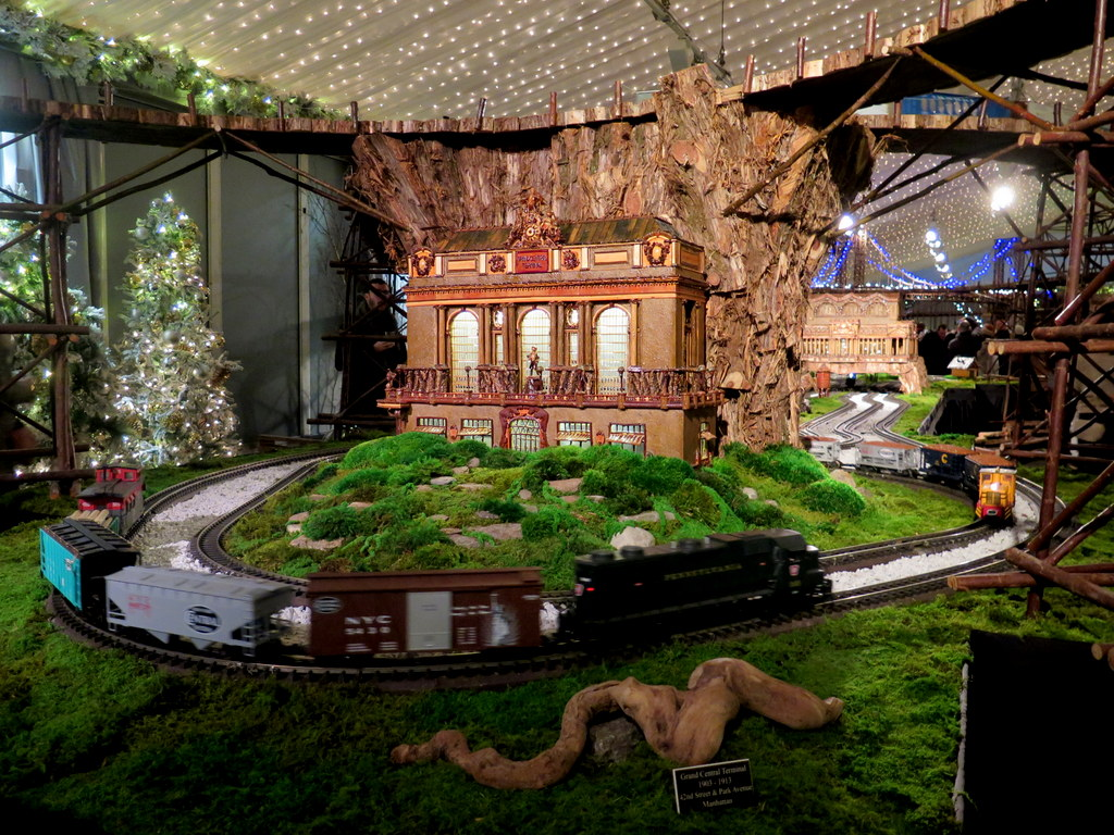 Grand Central Station, 28th Holiday Train Show, Bar Car Nights, Applied Imagination