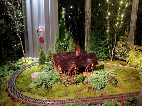 The Dairy, Central Park Display, NYBG 28th Holiday Train Show, Bar Car Nights, Applied Imagination