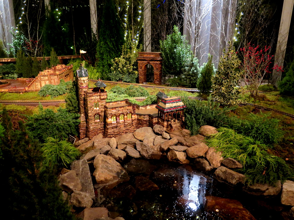 Belvedere Castle, Central Park Display, NYBG 28th Holiday Train Show, Bar Car Nights, Applied Imagination