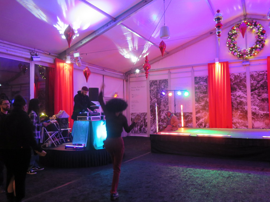 Bar Car Nights, NYBG 28th Holiday Train Show, Applied Imagination, NYBG