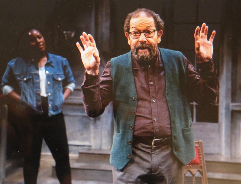 Crystal Lucas-Perry, Jonathan Hadary,A Bright Room Called Day, Tony Kushner, Oskar Eustis, The Public