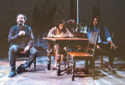 Jonathan Hadary, Nikki M. James, rystal Lucas-Perry,A Bright Room Called Day, Tony Kushner, Oskar Eustis, The Public