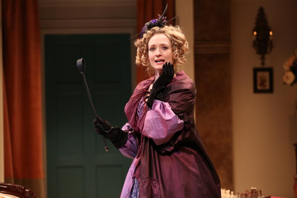 Rachel Pickup, London Assurance, Charlotte Moore, Irish Repertory Theatre Dion Boucicault