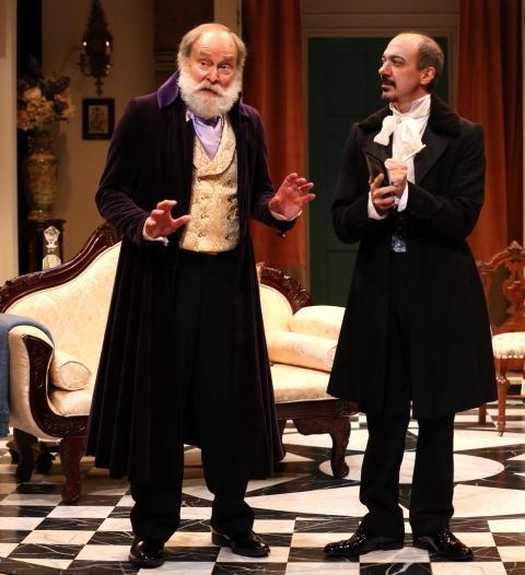 Robert Zuckerman, Evan Zes, London Assurance, Charlotte Moore, Irish Repertory Theatre Dion Boucicault