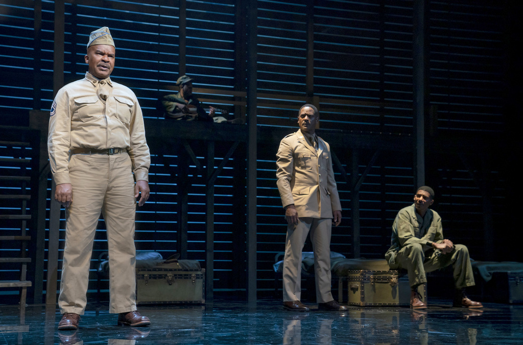 David Alan Grier, Blair Underwood, Billy Eugene Jones, A Soldier's Play, Charles Fuller, Kenny Leon Roundabout Theatre Company