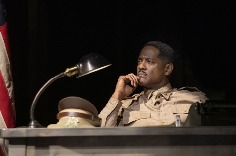 Blair Underwood, A Soldier's Play, Charles Fuller, David Alan Grier, Kenny Leon, Roundabout Theatre Company