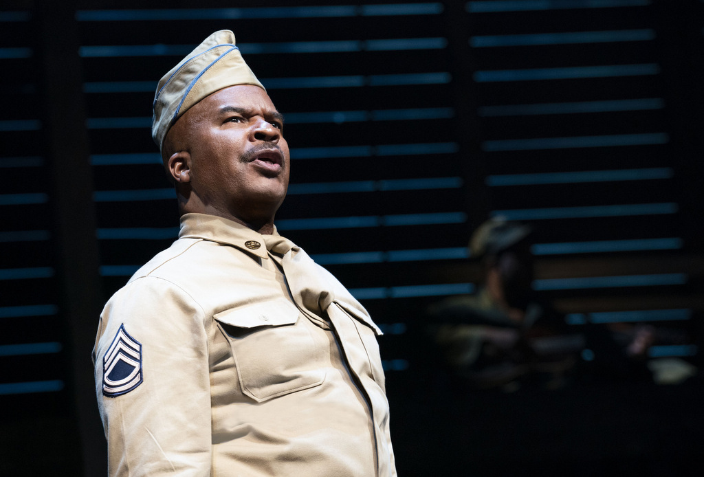 David Alan Grier, A Soldier's Play, Charles Fuller, Kenny Leon, Roundabout Theatre Company