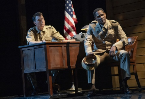 Jerry O'Connell, Blair Underwood, Roundabout Theatre Company, A Soldier's Play, Charles Fuller, Kenny Leon