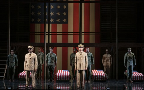 The Company, A Soldier's Play, Charles Fuller, Kenny Leon, Roundabout Theatre Company