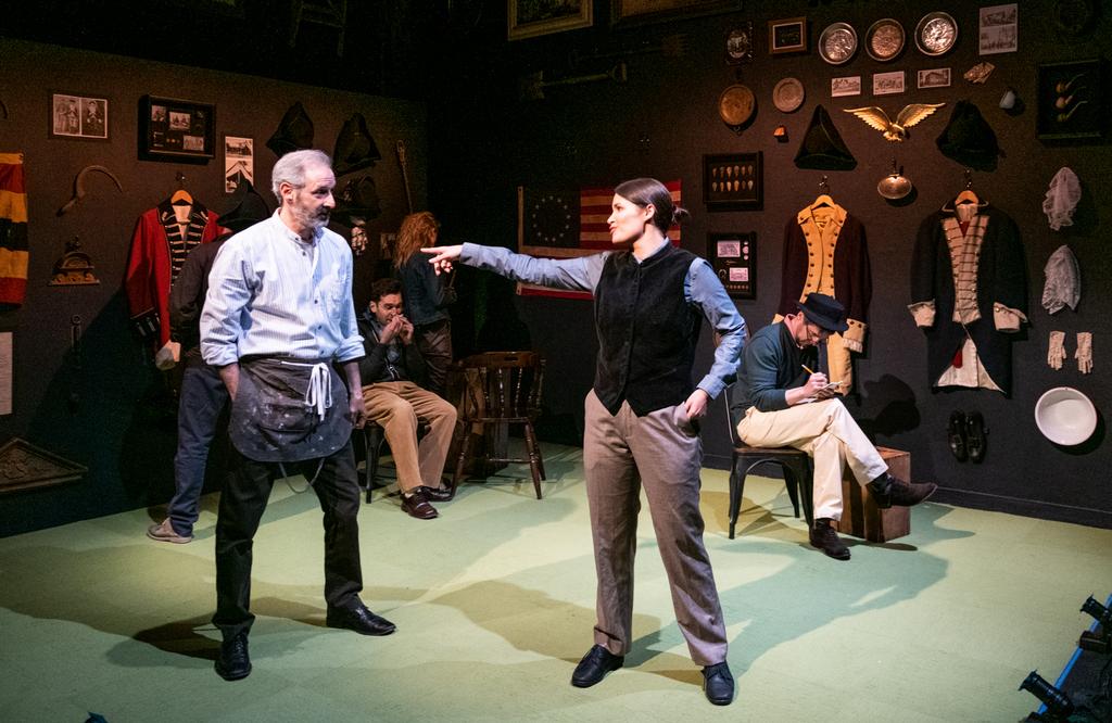 Richard Topol, Nicole Villamil, How to Load a Musket, Talene Monahon, Jaki Bradley, 59E59 Theaters