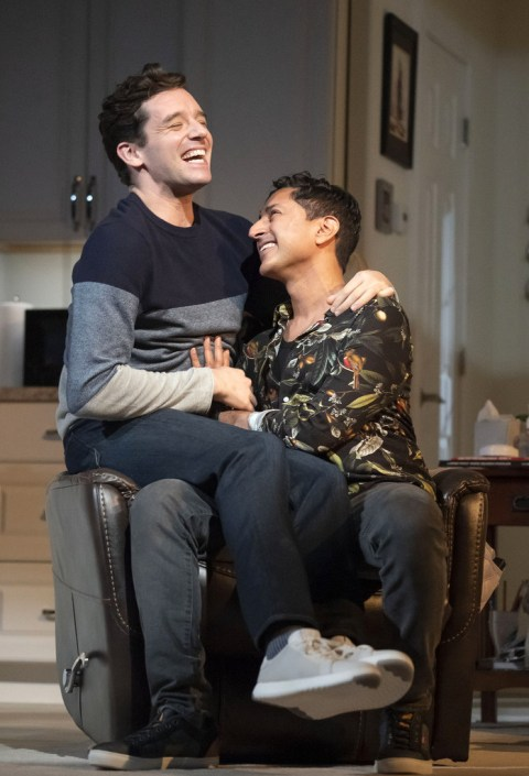 Michael Urie, Maulik Pancholy, Grand Horizons, Ashley Park, Michael Urie, Jane Alexander, James Cromwell, Bess Wohl, Leigh Silverman, 2NDSTAGE