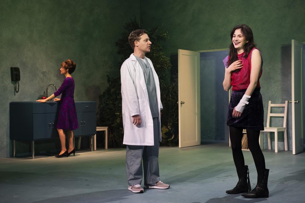 Carla Gugino, Vince Nappo, Celeste Arias, Anatomy of a Suicide,Alice Birch, Lileana Blain-Cruz, Atlantic Theater Company