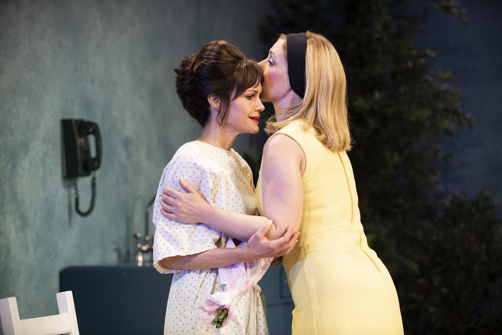 Carla Gugino, Miriam Silverman, Anatomy of a Suicide, Alice Birch, Lileana Blain-Cruz, Atlantic Theater Company