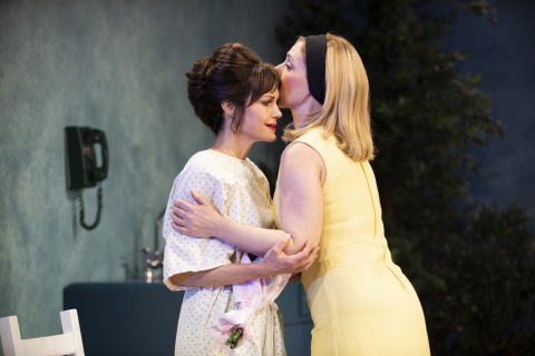 Carla Gugino, Miriam Silverman, Anatomy of a Suicide, Alice Birch, Lileana Blain-Cruz, Atlantic Theater Company