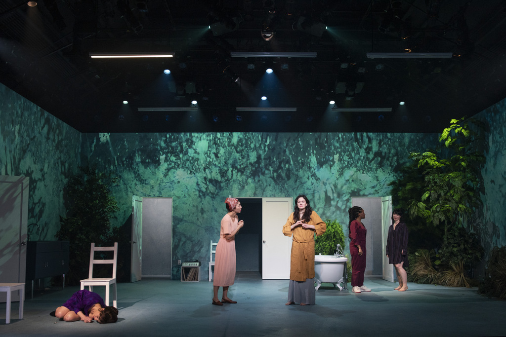 Carla Gugino, Ava Briglia,Celeste Arias, Jo Me, Gabby Beans, Anatomy of a Suicide, Alice Birch, Lileana Blain-Cruz, Atlantic Theater Companyi