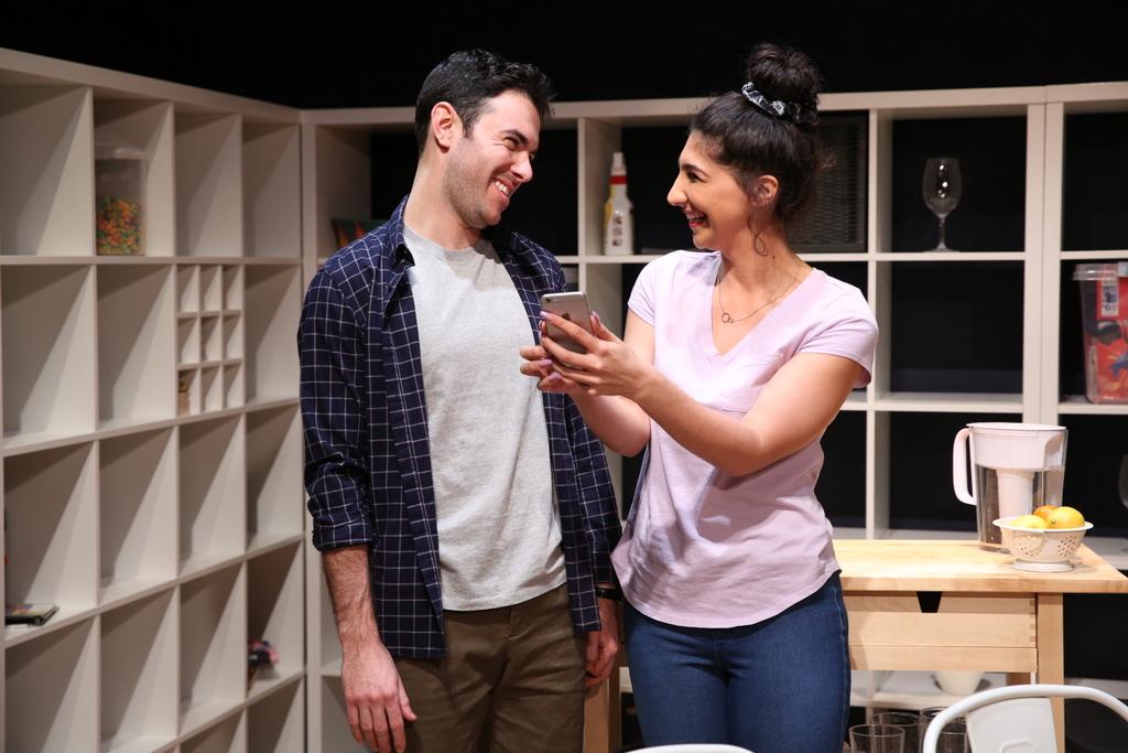 Ben Katz, Olivia Khoshatefeh, The Commons, Lily Akerman, Emma Miller, 59E59 Theaters