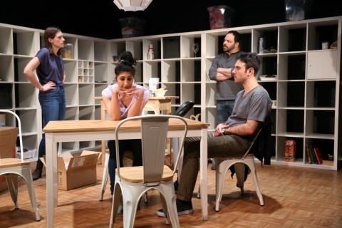 Julia Greer, Olivia Khoshatefeh, Ben Newman, Ben Katz, The Commons, Lily Akerman, Emma Miller, 59E59 Theaters