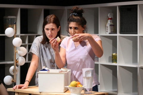 Julia Greer, Olivia Khoshatefeh, The Commons, Lily Akerman, Emma Miller, 59E59 Theaters