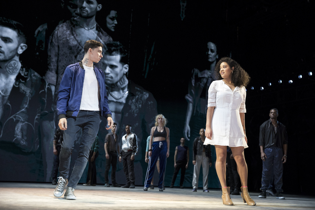 Isaac Powell, Shereen Pimentel, West Side Story, Jerome Robbins, Arthur Laurents, Leonard Bernstein, Stephen Sondheim, Ivo Van Hove