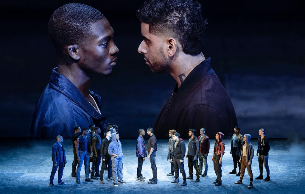 Dharon E. Jones, Amar Ramsar, The Cast, West Side Story, Jerome Robbins, Arthur Laurents, Leonard Bernstein, Stephen Sondheim, Ivo Van Hove