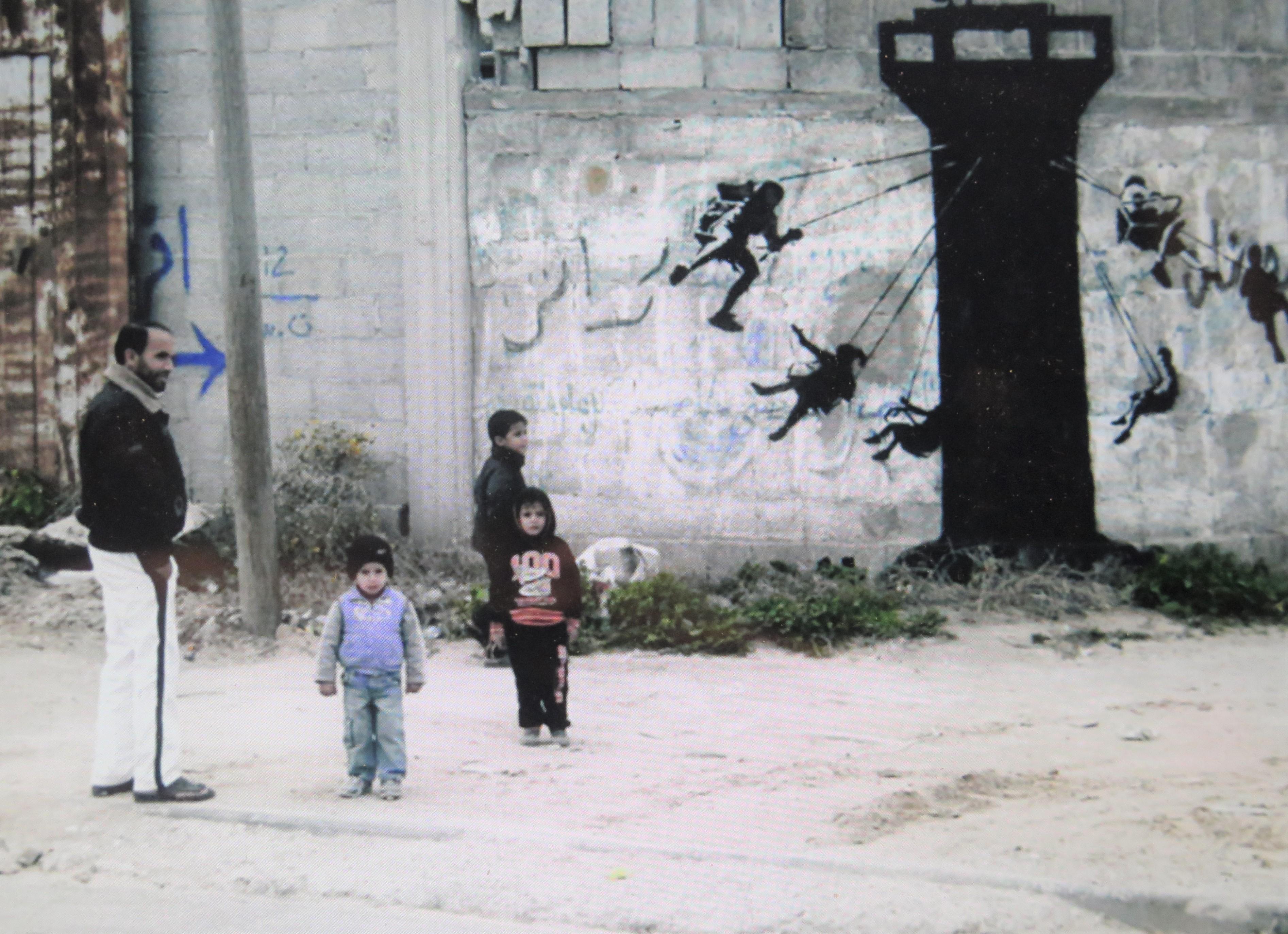 Banksy, West Bank
