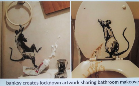 Banksy in lockdown