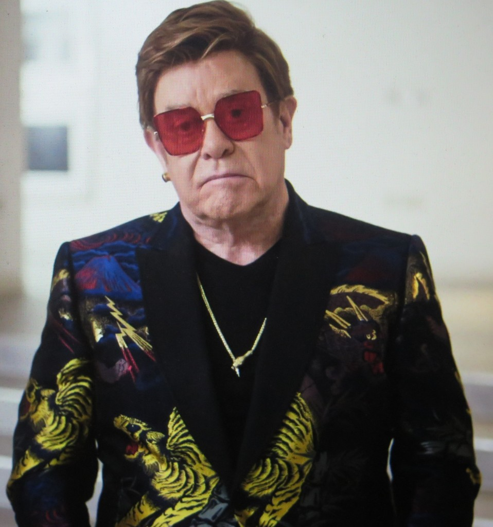 Friend Sir Elton John in 'Dancing With The Devil,' directed by Michael D. Ratner in its World Premiere at SXSW FF (courtesy of the film)