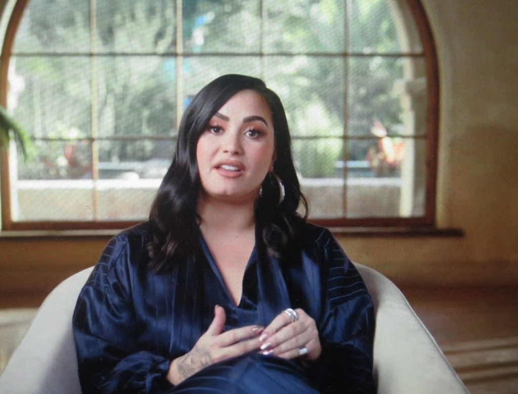 Demi Lovato in 'Dancing With The Devil,' directed by Michael D. Ratner in its World Premiere at SXSW FF (courtesy of the film)