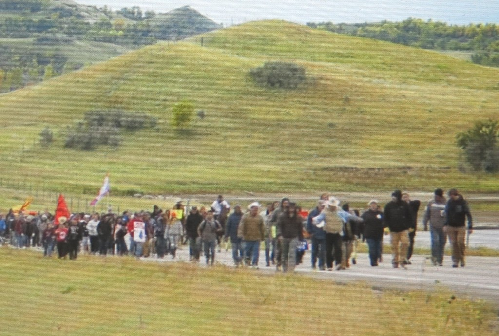 Protestors came from all over, 'The End of The Line: The Women of Standing Rock,' Athena Film Festival (courtesy of the film)