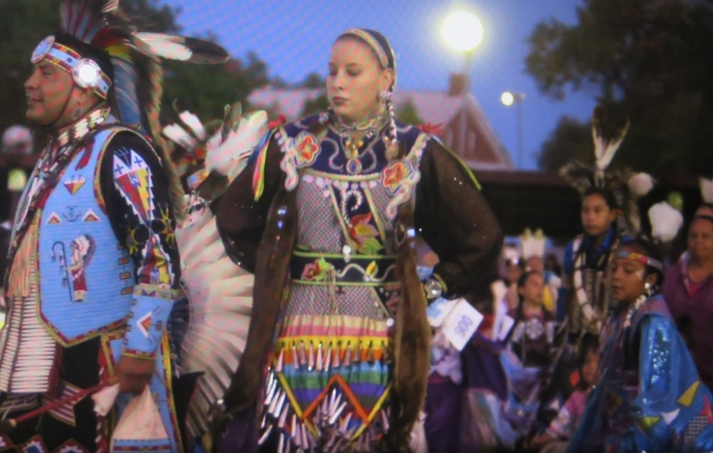 Ceremonial dancing, End of The Line: The Women of Standing Rock,' directed by Shannon Kring Athena Film Festival (courtesy of the film)