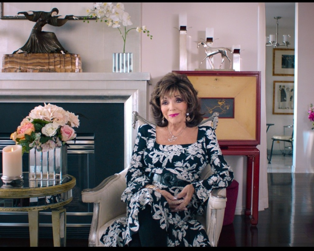 Joan Collins 'LADY BOSS: The Jackie Collins Story' Tribeca Film Festival 2021 (courtesy of the film)